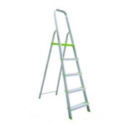 Escalera Domestica Aluminio 5 Peldaños