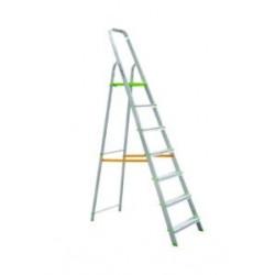 Escalera Domestica Aluminio 7 Peldaños