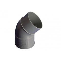 Codo Evac M-h 45§ 160mmØ Pvc Hidrot