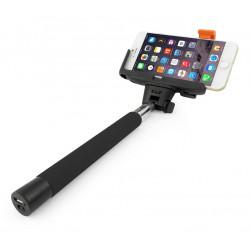Brazo Selfie Telescopico Bluetooth Negro