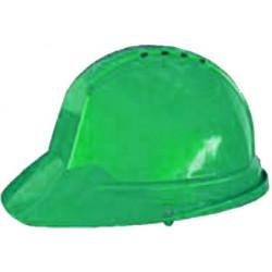 Casco Obra Ranura 30mm Con Desusadora Verde