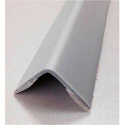 Esquinero Pvc Adhesivo Aluminio 25x25x2,60mt