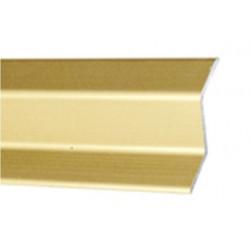 Perfil Aluminio Plaqueta Z Adhesivo Oro 37mmx0,83mt
