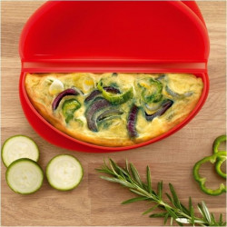 Cocedor Microond. Tort.franc. Silic Ro Omelette Lekue