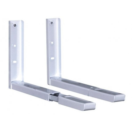 Comprar soporte microondas extensible 40kg blanco en - Soporte tv extensible ...