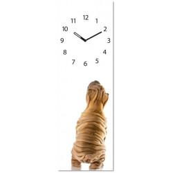 Reloj Decoracion Perro 20x60cm