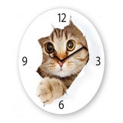 Reloj Gato 30x30cm
