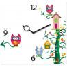Reloj Buhos 30x30cm