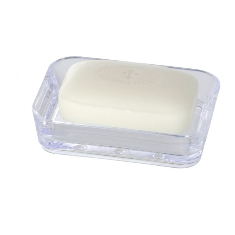 Comprar jabonera ba o plastico transparente candy en for Accesorios bano plastico