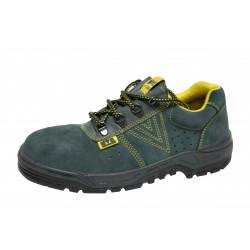 Zapato Seguridad Piel Serraje Metal S1p Turpine T45