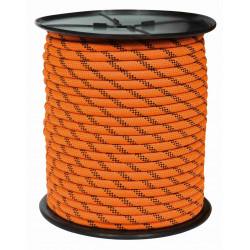 Cuerda Nylon Doble Trenza Escalada 12mm Nja/neg Carrete 100m