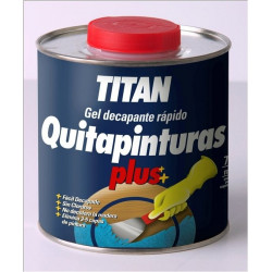 Quitapinturas Prep. Mad 2,5 Lt Decap.rap Gel Titan-plus Tita
