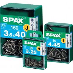 Tornillo Spax M Inox 3x25 25pz.