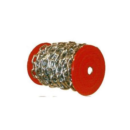 Cadena Ind 2,5mm Bobina 80mt 10kg Esl.recto 2,5mm-z-bobina C