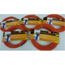 Guia Pasacables Acero-nylon 4mm 25metros Naranj 21638 Miarco