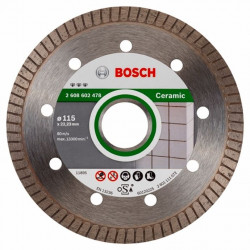 Disco Corte Porcelan. B/cont 115x1,4 Mm Turbo Diam Bosch