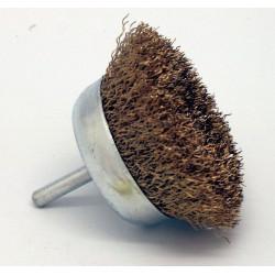 Cepillo Taza Metalico 75mm Acero 0,3mm Para Taladro