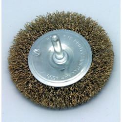 Cepillo Circular Metal 075mm Acero 0,3mm Para Taladro