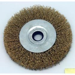 Cepillo Circular Metal 100mm Acero 0,3mm P/amoladora