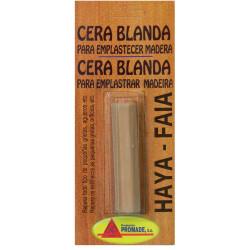 Cera Blanda Emplastecer Madera Haya Blister 25gr Acer212