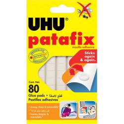 Masilla Amasable Reutilizable Precortada Uhu Patafix 80pz