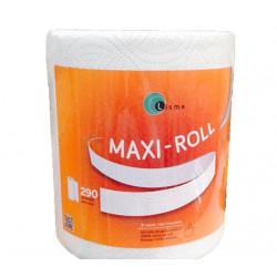 Papel Doble Capa Multiusos Maxi-roll 500gr 6pzs