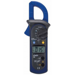 Pinza Amperimetrica Digital Cat Iii Ac/dc Limit 20
