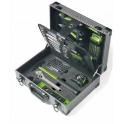 Maleta Aluminio Con 63 Herramientas 370x270x135mm