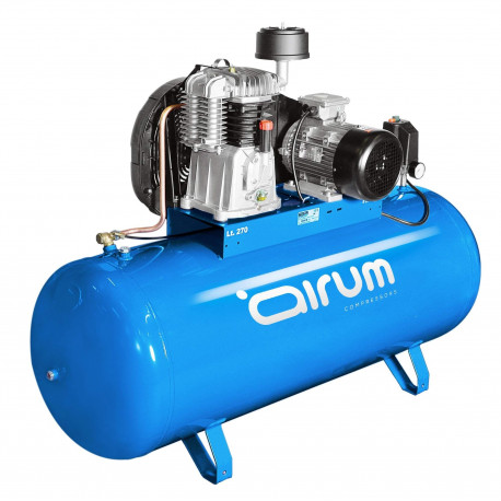 Compresor Correas 270lt C/aceite 3cv 9bar 390lt Airum