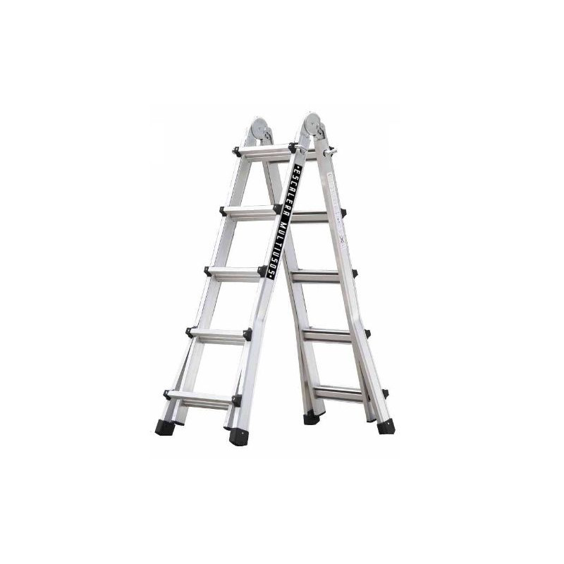 Escalera multiuso aluminio 10 10 pelda os master 5x5 for Escalera aluminio 2 peldanos