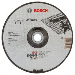 Disco Corte Inoxidable Concavo 230x1,9x22,23mm Standardbosch