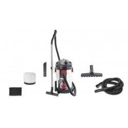 Aspirador 1400w Seco/liquidos Inox 30 Lt Accesorios Incluido