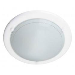 Plafon Miramar E27 1x42w 285mm Blanco