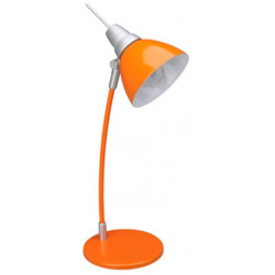 Flexo Sobremesa Naranja Jenny