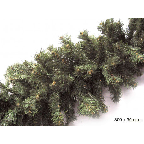 Adorno Navidad Guirnalda Verde Juinsa 30 Cm