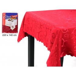 Mantel Tejido Rojo Juinsa 200 Gr 220x140cm