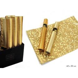 Salvamantel Plastico Oro Juinsa 30 Cm