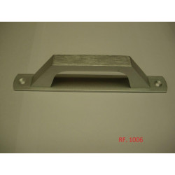 Tirador Puerta 195mm-1006 Plata