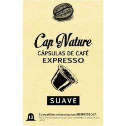 Capsula Cafe Suave Expresso Capnature 10 Pz