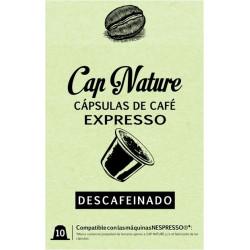 Capsula Cafe Expresso Descafeinado 10unds