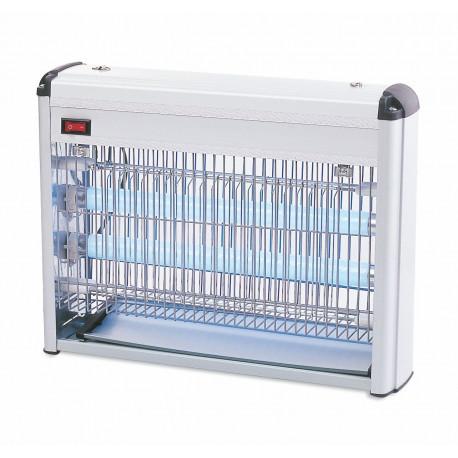 Matainsectos Electrico Aluminio,lampara 2x10w Mod.bug 20