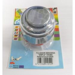 Pulsador Cisterna Descarga Simple Cr S&m