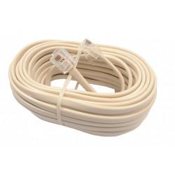 Cable Telefonico 7.5m Macho Macho Tl-52-e