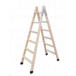 Escalera Ind Tijera 2,75mt 11 Peldaños Dob Mad Climent