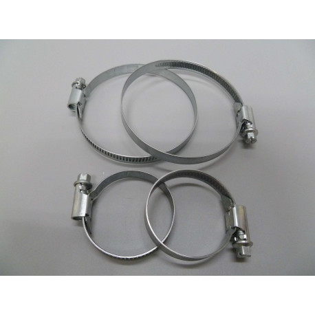 Abrazadera 2pz Acero Inox 16-27mm Saneaplast