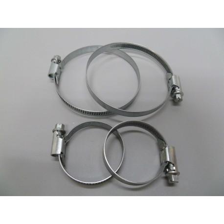 Abrazadera 2pz Acero Inox 60-80mm Saneaplast