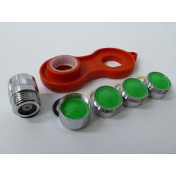 Atomizador Grifo S&m Lat/cr Kit Ahorro 323348 6