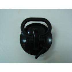 Tapon Fregadero Con Asa Goma Negro 45mm Saneaplast