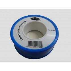 Teflon Baja Densidad 0,075mm Ptfe Az/bl 12mmx12m Saneaplast