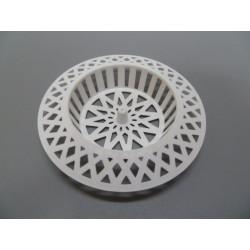 Rejilla Lavabo Plastico Blanca 60x30mm Saneaplast